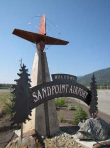 Sandpoint Airport Entry