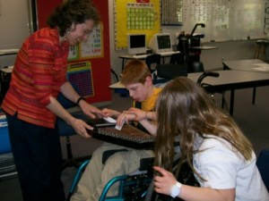 Music Therapy with Disabled Student