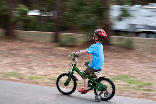 Racing on Training Wheels