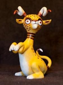 crouching cheetalope