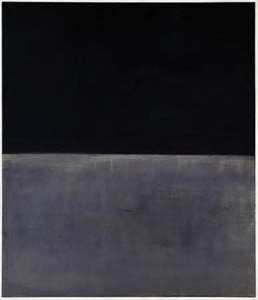 Mark Rothko Untitled (Black on Grey)