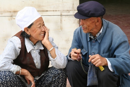 Old Couple by Adam Cohn