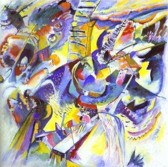 Gorge Improvisation by Wassily Kandinsky