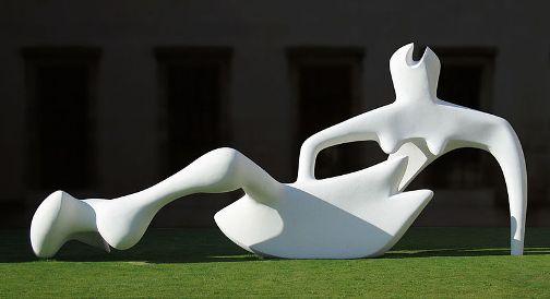 Henry Moore Reclining Figure 1951