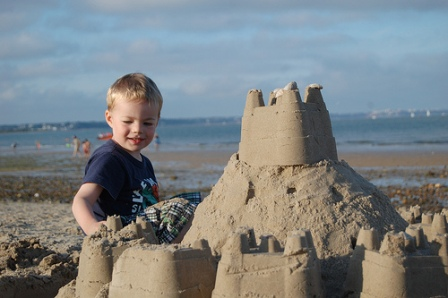 Boy and Castle