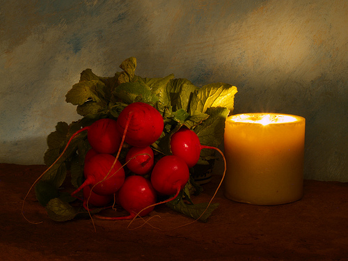 Radishes and Light