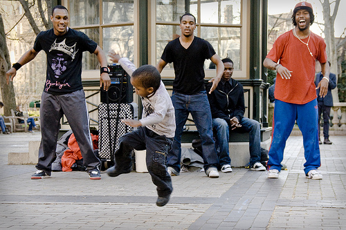 Dancing Child Photo by Adrian Mathurin